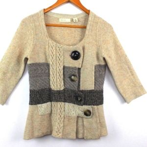Anthropologie Sweaters - Anthropologie Sleeping On Snow Cardigan Sweater